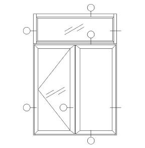 周口平开窗铝型材价格